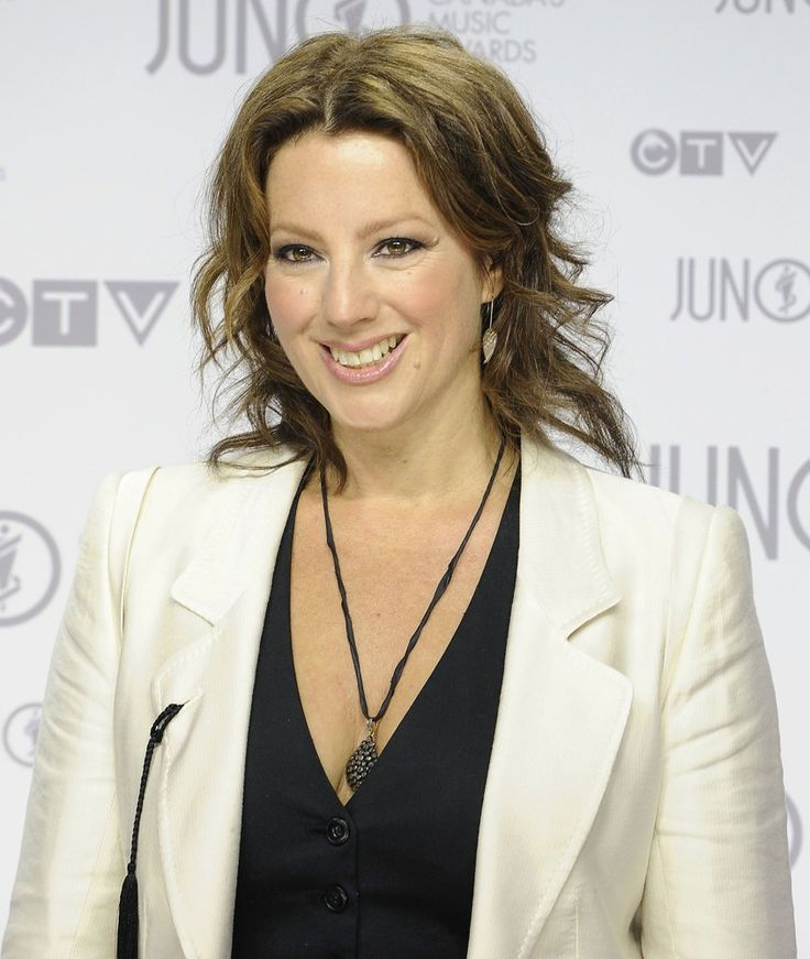 Hair and Makeup by Natalie Ventola for singer and songwriter Sarah McLachlan at the 2012 JUNO Awards.  www.plutinogroup.com