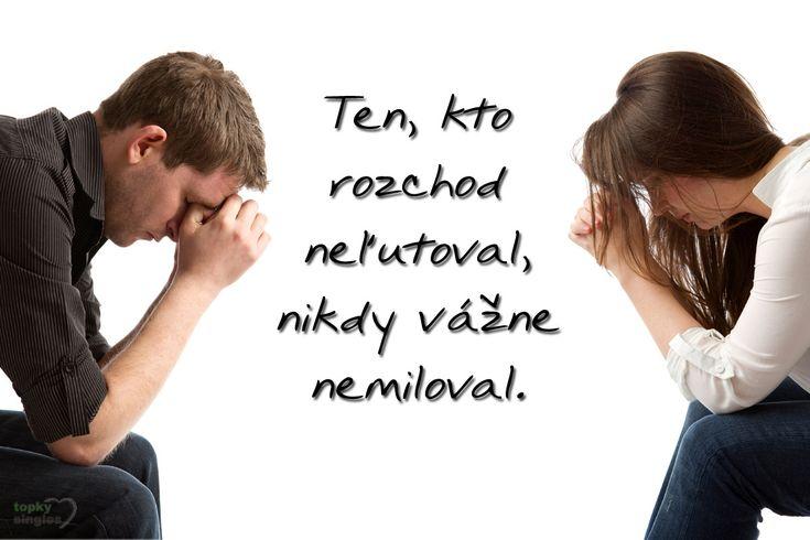 Oveľa horšie sa na nový stav zvyká, ak ste rozchod neiniciovali vy, ale Váš partner.