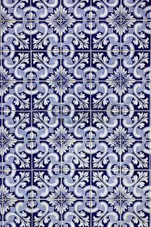 Carreaux bleus portugais. photo