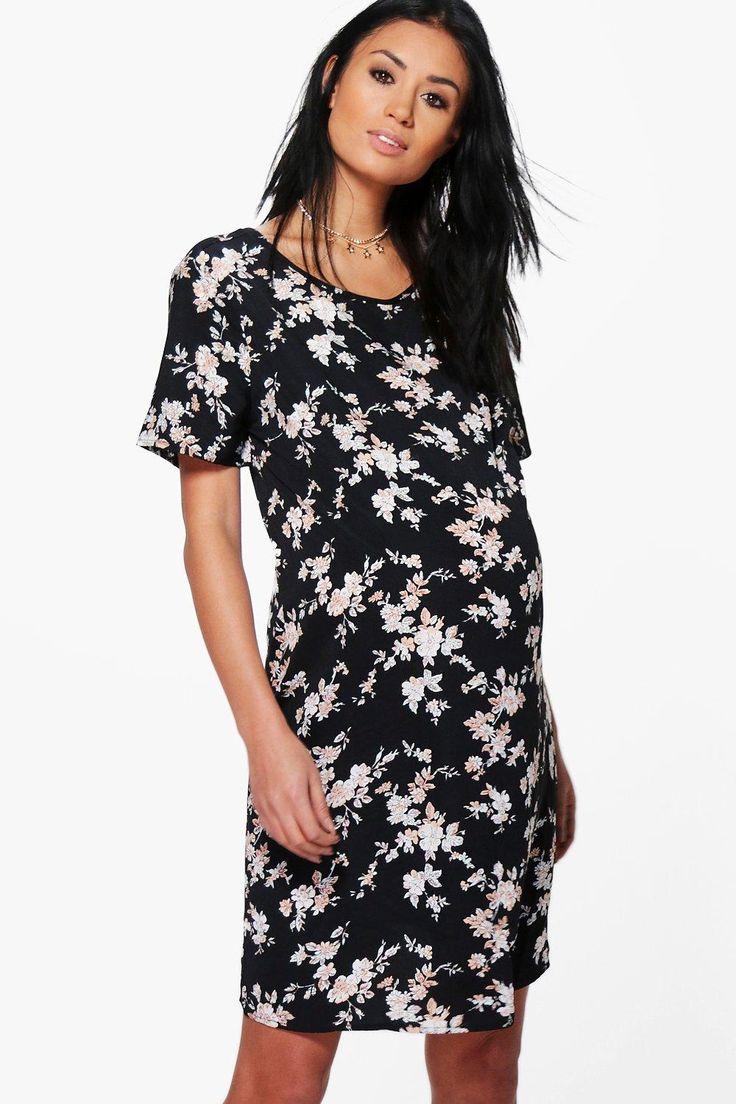 Maternity Lauren Floral Shift Dress