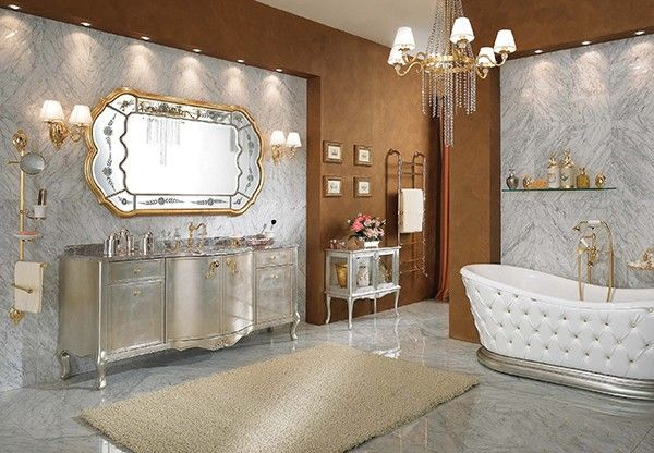 little over the top but i love the bathtub