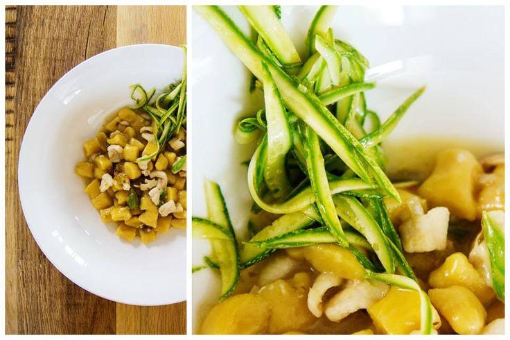 Gnocchi al sugo bianco di sogliole e vongole, zucchine e colatura di alici. #gnocchi #nostranopesaro #cartanostrano