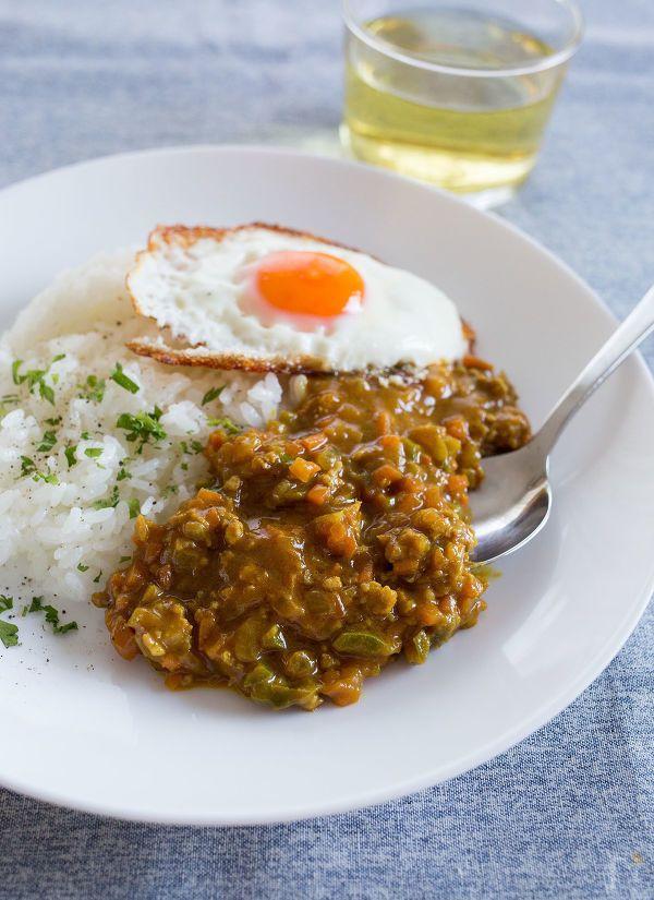 フライパン1つで作れる簡単キーマカレー。 野菜たっぷり、マイルドなカレーは子供たちにも人気メニューです!