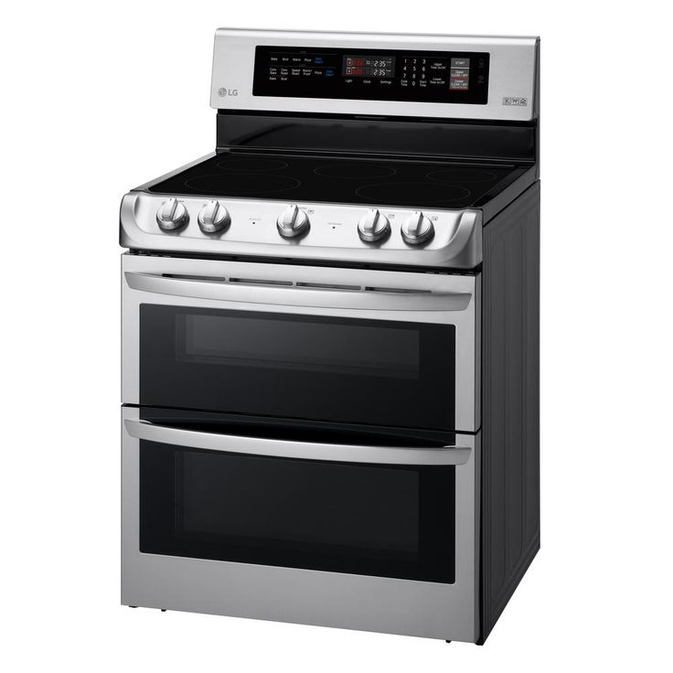 LG Electronics 7.3 cu. ft., Double Oven Electric Range with ProBake Convection, EasyClean