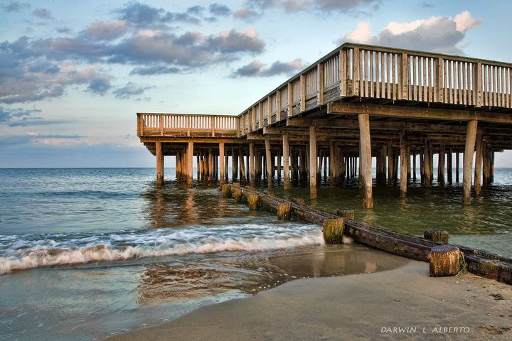 37 best images about hampton virginia on pinterest for Buckroe beach fishing pier