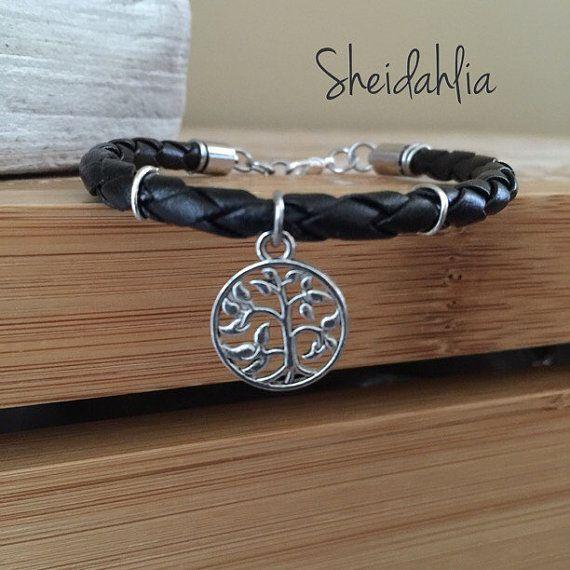 Arbre de vie bijoux-arbre de collier de vie, arbre de vie tour de cou, bracelet arbre de vie, bijoux de charme, plume charme, arbre de vie, charme