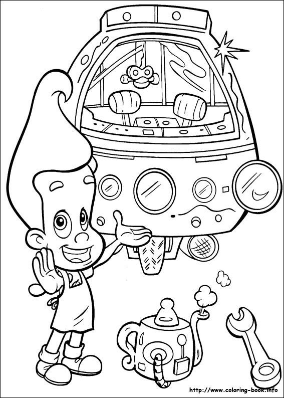 newtron coloring pages - photo#4