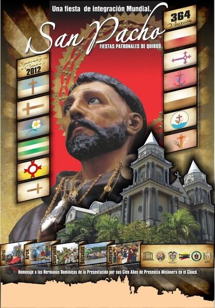 Fiestas de San Pacho del 20 de Septiembre al 5 de Octubre en Quibdó - Chocó