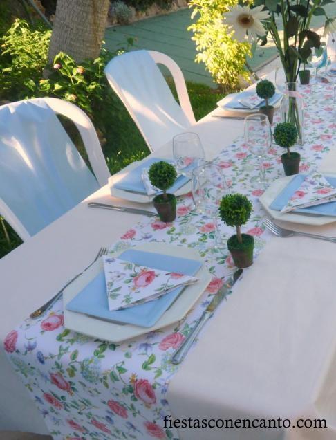 10 best images about decoraci n mesas on pinterest first - Adornos mesa comunion ...