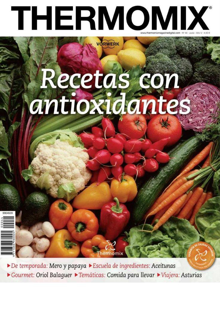 ISSUU - Revista thermomix nº44 recetas con antioxidantes de argent