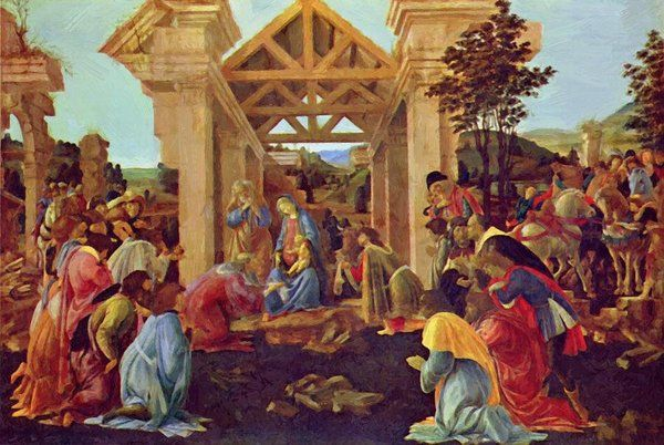 Pin By Pixbreak Vintage Posters On Artist Great Italian Masters Sandro Botticelli Sandro Botticelli Paintings Botticelli Paintings