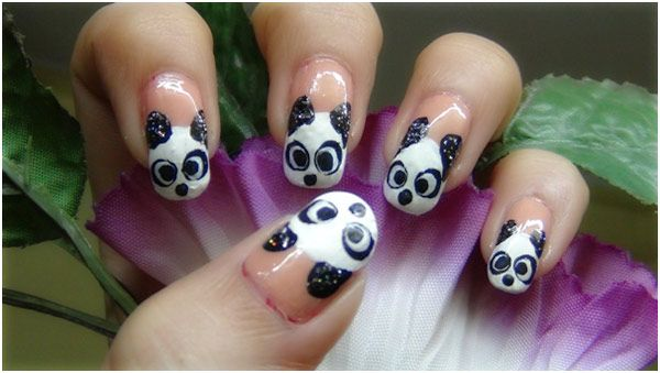 Panda Nail Art Tutorial – With Detailed Steps And Pictures