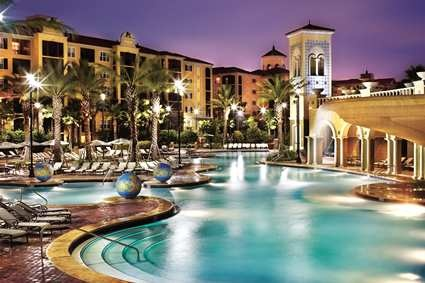 Home away from home - the Tuscany Resort - Hilton Grand Vacations Club® on International Drive-Orlando Hotel, FL - Pool Area