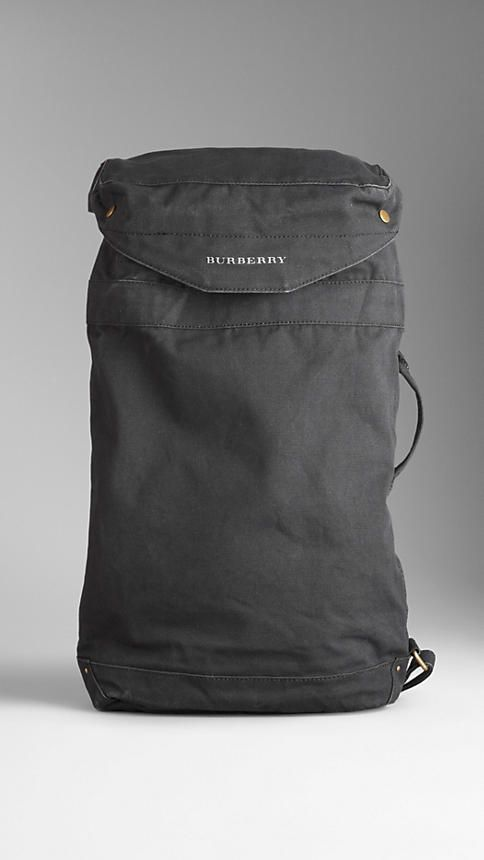 Sailing Canvas Duffle Bag | Burberry
