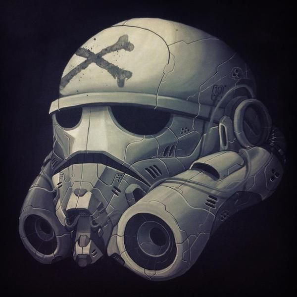 STORM TROOPER by Clog Two, via Behance
