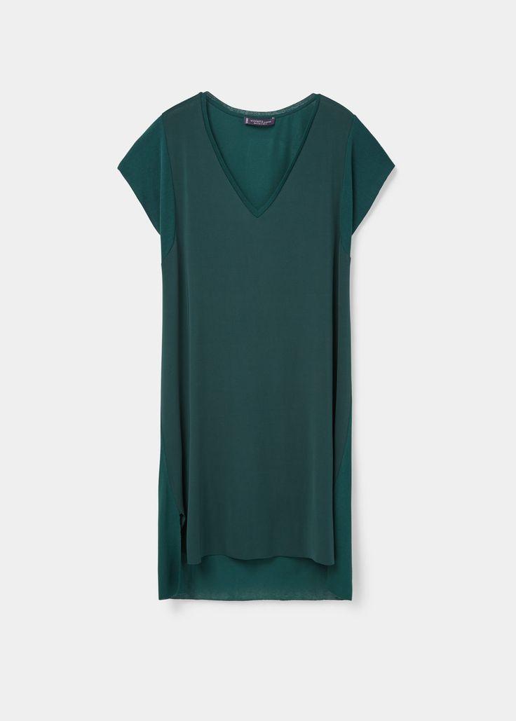 Vestido recto | VIOLETA BY MANGO