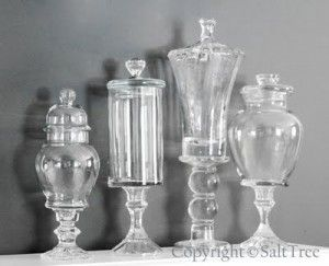 How To Create Apothecary Jars From Thrift Store Glassware Project - The Homestead Survival