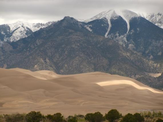 Great Sand Dunes National Park in Mosca, CO. Definitely going to visit here this summer or spring.
