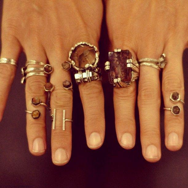 ManiaMania rings.
