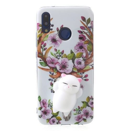Coque Squishy 3D Chat Huawei P20 Lite - Fleurs   Phone cases, New ...