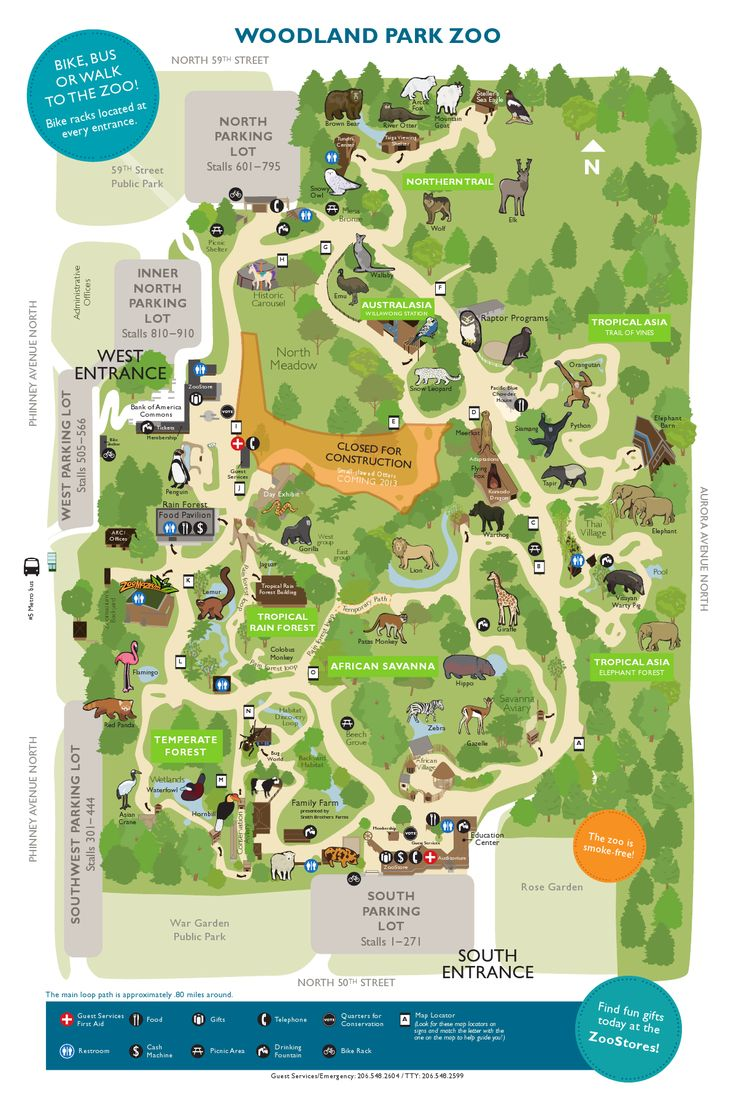 Lincoln Park Zoo Map Of Grounds The Best Zoo 2017