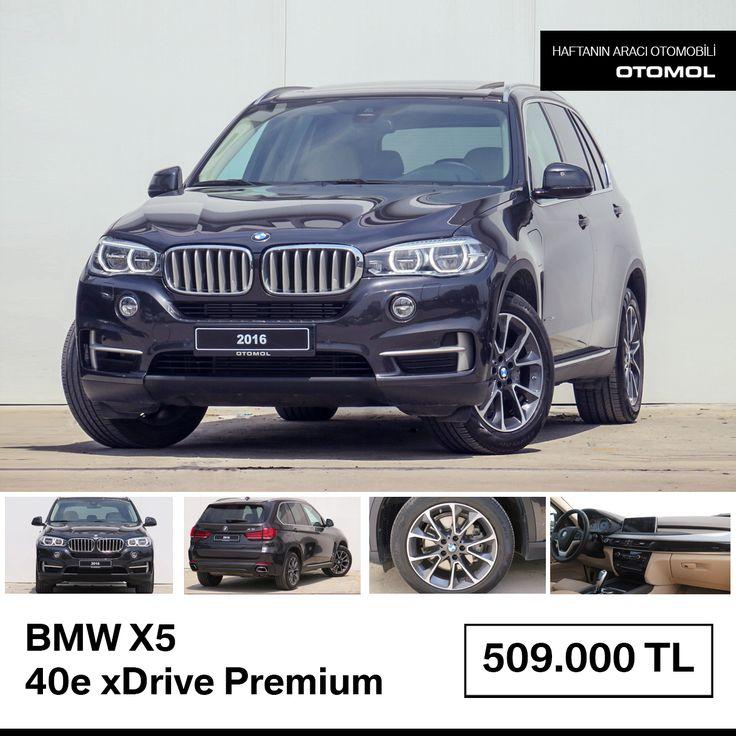 Haftanın otomobili : BMW X5 40e xDrive Premium Detaylar : https://goo.gl/LMmeuP