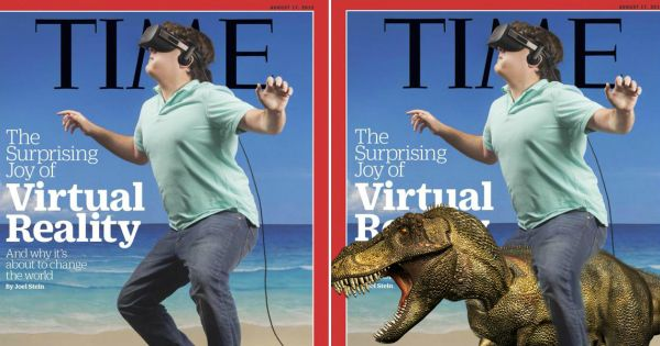 The surprising joy of Time's virtual reality cover starring Palmer Luckey