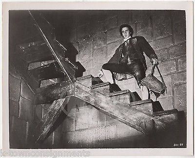 JOHN LAURIE KIDNAPPED MOVIE (1960) ACTOR VINTAGE MOVIE STILL PHOTOGRAPH