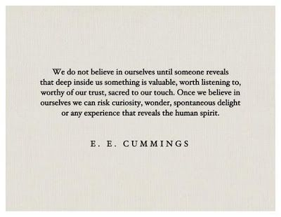 Cummings | Books, Movies, & Quotes | Pinterest