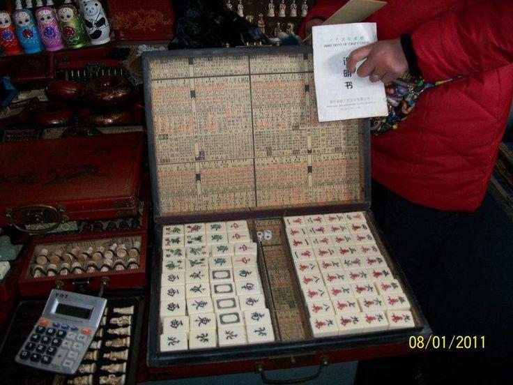 Majong, Cina, contemporaneo. € 150,00
