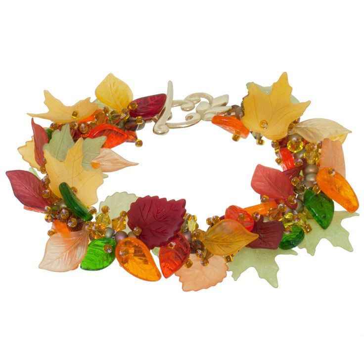 Celebrating Fall Bracelet |Fusion Beads Inspiration Gallery