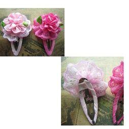2 PAR Barn, Flickor, Rose prinsessan blomma hårspännen, MIX