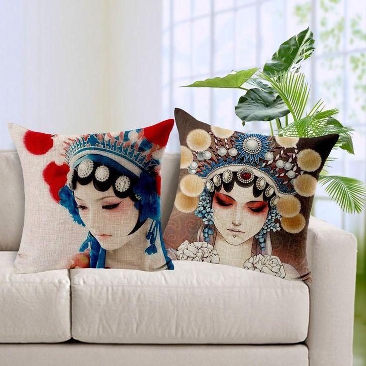 Cushions Home Decoration Linen Cotton Sofa Meditation Pillows Cushion