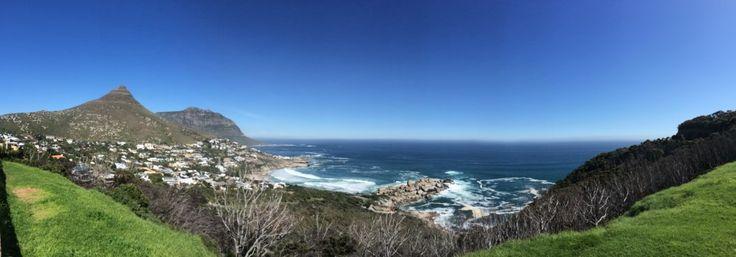 Sábado de praia em Cape Town, África do Sul