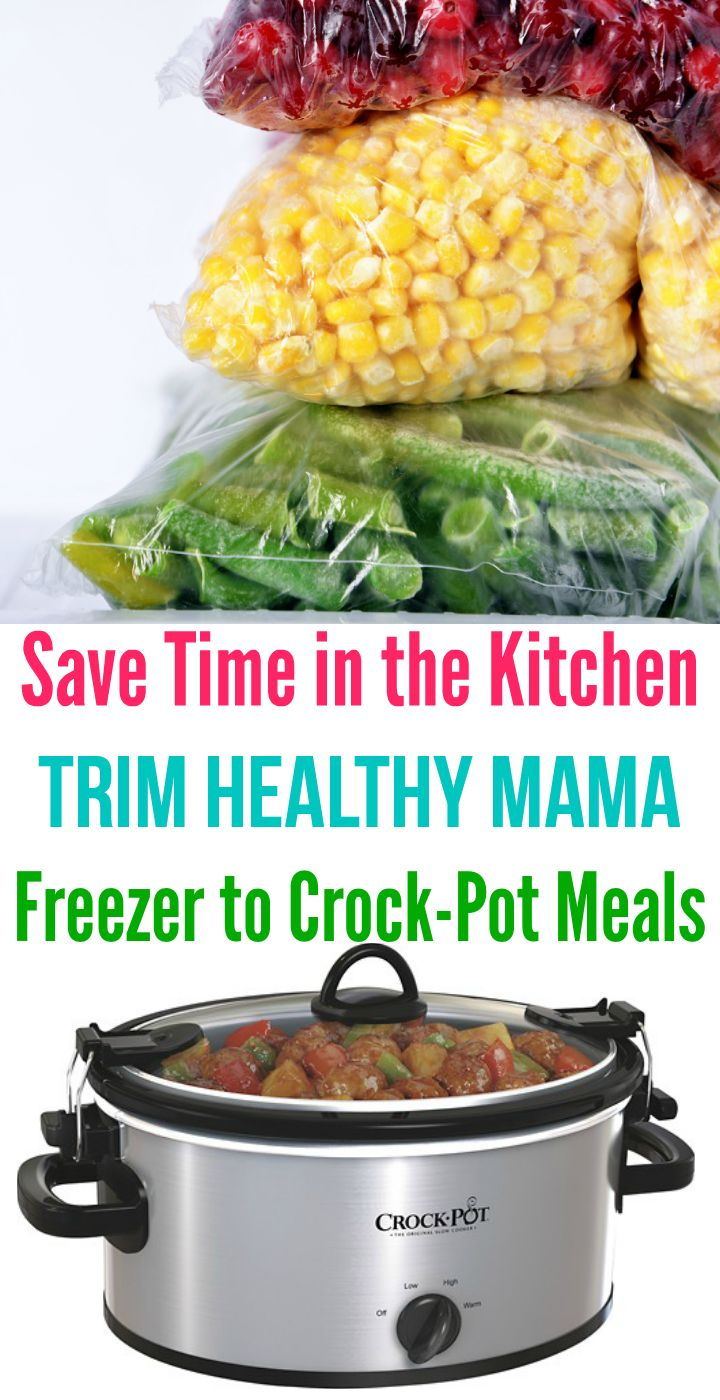 Love this awesome list of Trim Healthy Mama crock-pot freezer meals!! via @Joie7