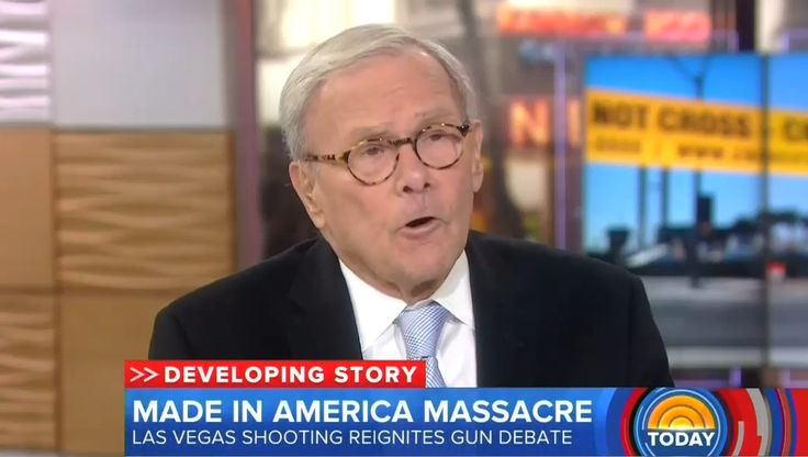 """After repeatedly demanding a """"national dialogue"""" about gun control throughout NBC's special coverage of the Las Vegas shooting on Monday, on Tuesday, the former Nightly News anchor abandoned any pretense of being a journalist as he slammed gun owners and urged liberal viewers to politically """"organize"""" against the National Rifle Association."""