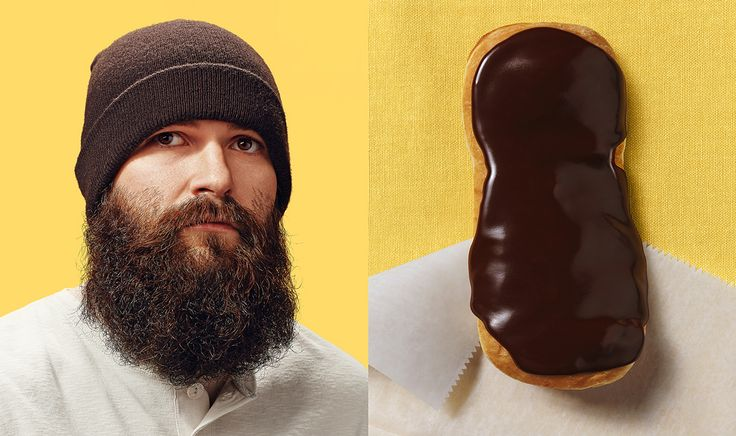 """St. Louis, Missouri based photographer Brandon Voges new series """"Donut Doubles"""" gives us a humorous take on """"you are what you eat."""""""