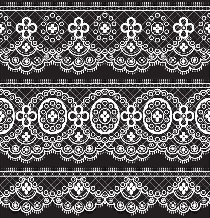 Lace Borders Clipart, White Lace Borders, Black Lace , Wedding Lace, Digital Borders, White Lace Clip Art, Vintage Borders- Instant Download by VipARTVector on Etsy