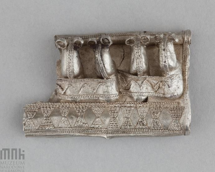 Poland - West Slavs - Kaptorga (fragments) - early medieval container for amulets and/or sacred herbs, worn around the neck, 10th-11th century | Katalog MNK