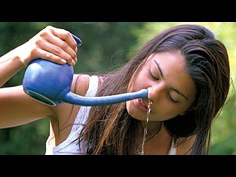 Jal Neti - Nasal Cleaning, Helps to Remove Dirty and Infected Mucus from the Nasal Cavity - English - YouTube
