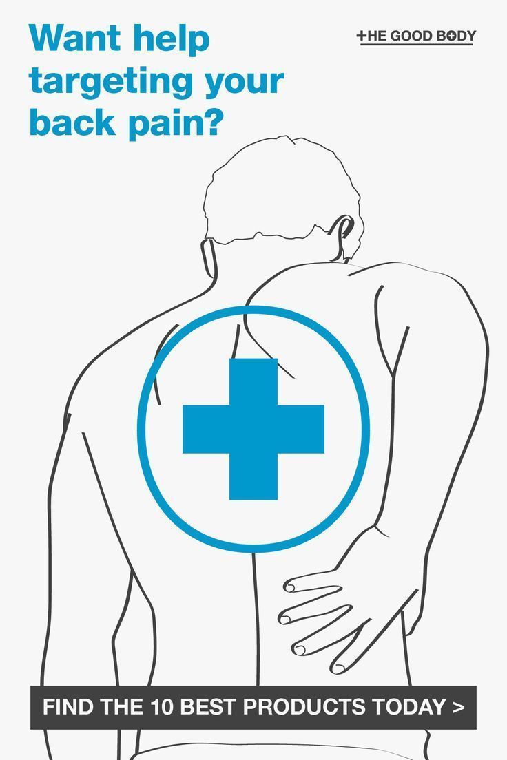 8f39c894b76 10 (+ 4 Free) Of The Best Back Pain Relief Products And Remedies ...