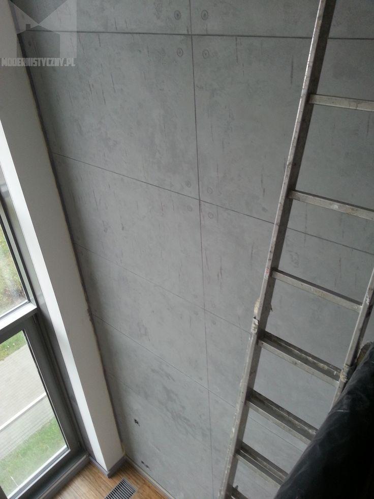 concrete wall - beton dekoracyjny  architektoniczny - tynki i farby dekoracyjne www.modernistyczny.pl