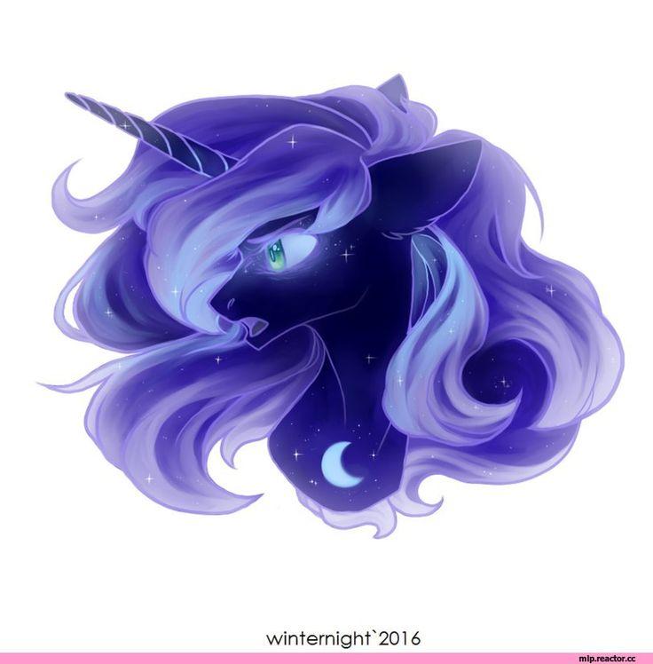 my little pony,Мой маленький пони,фэндомы,Nightmare Moon,minor,mlp art