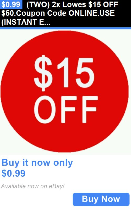 Lowes coupon code 15 off 50