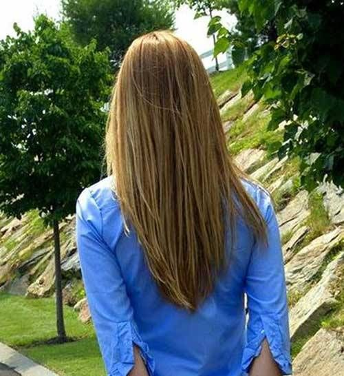 V-shape Long Haircuts All ladies should see