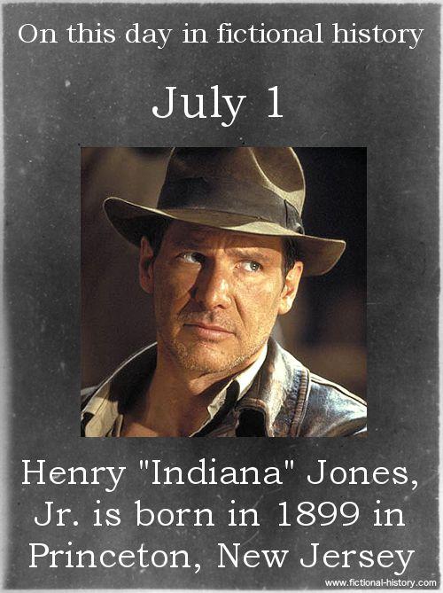 Fictional History lol Name:Henry Jones, Jr.Birthdate:July 1, 1899Sun Sign:CancerAnimal Sign:Earth Pig