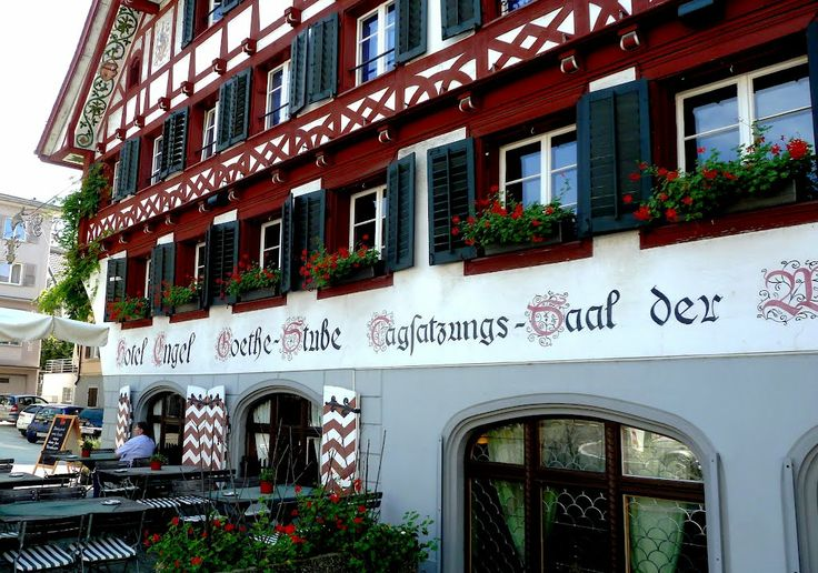 Küssnacht am Rigi Gasthaus Engel GoetheStube