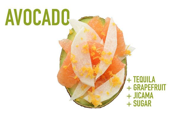 Tequila + Grapefruit + Jicama + Sugar | 17 Impossibly Satisfying Avocado Snacks