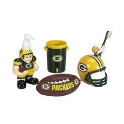 Green Bay Packers Bathroom Set ღ