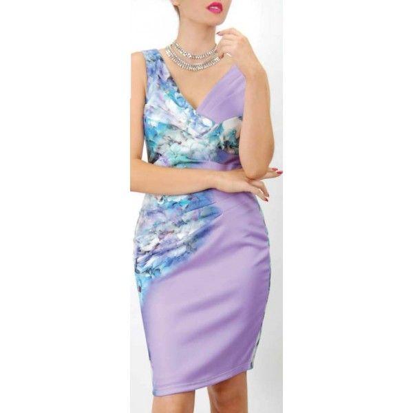 Magnus Floral Slimming Dress